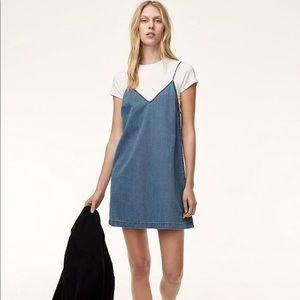 Aritzia(Wilfred Free) Chambray Dress